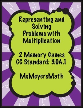Representing and Solving Problems with Multiplication Memory Game