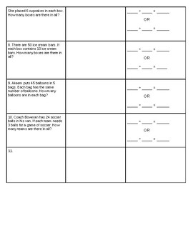 Representing and Understanding Division Worksheet