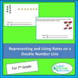 Representing and Using Rates on a Double Number Line