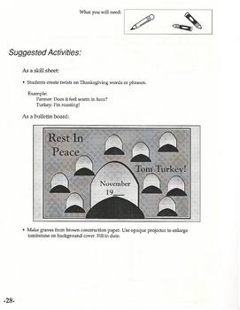 Reproducible Activity Book: Fall (Grades 4-6)