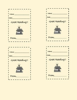 Reproducible Positive Notes and Rewards for Students