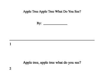 "Reproducible Reader ""Apple Tree Apple Tree""-K-1"