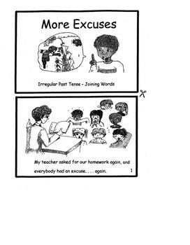 Reproducible Readers, Set 2 Past Tenses and Missed Skills Mini-Books