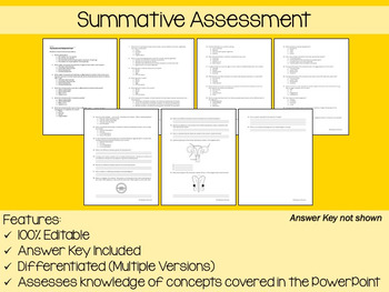 Reproduction and Development PowerPoint, Notes & Exam