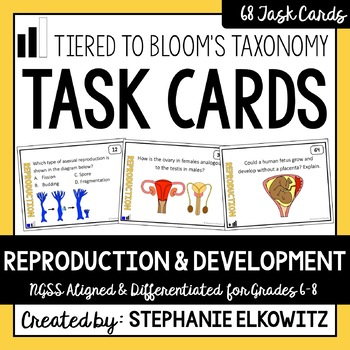 Reproduction and Development Task Cards
