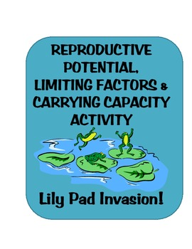 Reproductive Potential vs Carrying Capacity lily pad activity