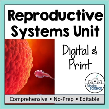 Reproductive System & Human Development- PowerPoint, Notes