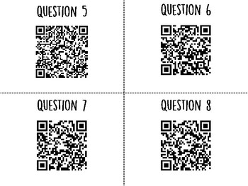 Reproductive System QR Code Hunt (Content Review or Notebook Quiz)