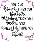 Repsonsive Classroom: Winnie the Pooh Quote Poster