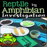 Reptile Amphibian Investigation and Close Read