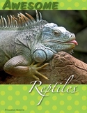 Reptile Language Arts Centers for Pre-K, Kindergarten, and First Grade