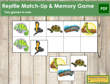 Reptile Match-Up and Memory