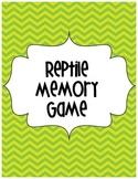 Reptile Memory Partner Game