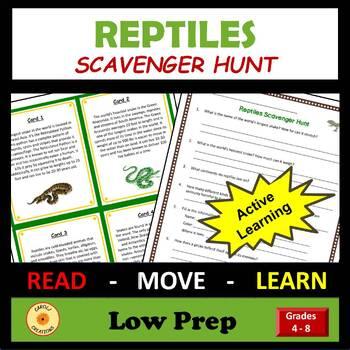 Reptile Scavenger Hunt