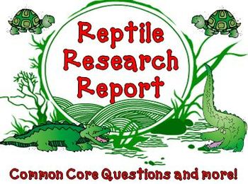 Reptile and Amphibian Research Report Bundle