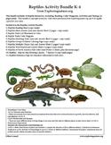 Reptiles Activity Bundle (K-5)