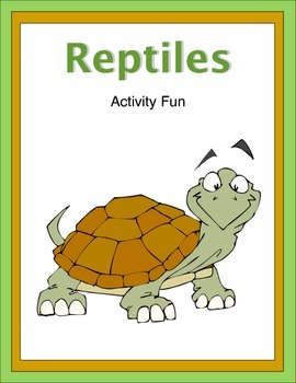 Reptiles Activity Fun