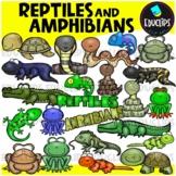 Reptiles & Amphibians Clip Art Bundle {Educlips Clipart}