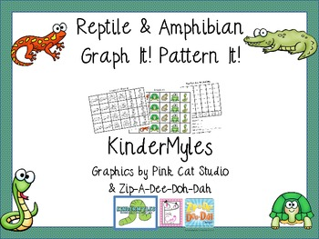 Reptiles & Amphibians Graph It! Pattern It!