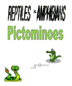 Reptiles & Amphibians Pictominoes