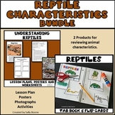 Reptiles Bundle - Lesson Plan, Photos, Worksheets and Activities