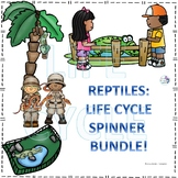 Reptiles Life Cycle Spinner Bundle #1