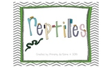 Reptiles Mini-Book (for Students with Autism & Communication Disorders)