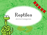 Ridiculous Reptiles PPT  Riddle Game, and 2 Worksheets!