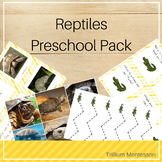 Reptiles Preschool Pack