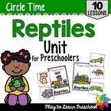 Reptiles Preschool Unit
