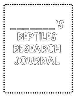 Reptiles Research Project