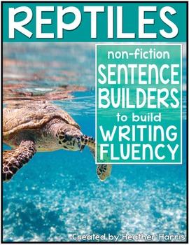 Reptiles Sentence Builders
