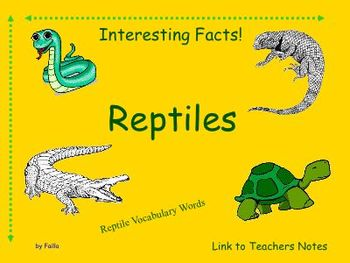 Reptiles Smart board interesting facts and more!