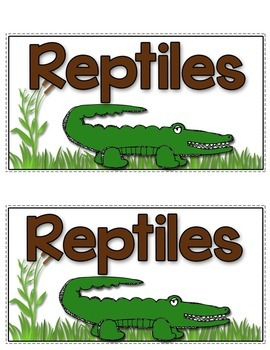 Reptiles Tab-Its®