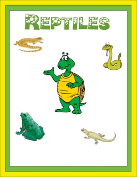 Reptiles Thematic Unit