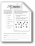 Reptiles (Thinking Skills)