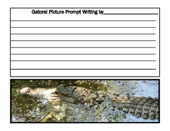 Reptiles Writing Printables