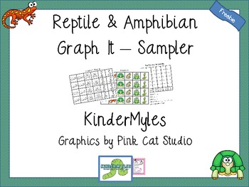 Reptiles and Amphibians Graph It Sampler