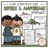 "Reptiles and Amphibians Math and Literature ""No Prep"""