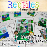 Reptiles and Amphibians Nonfiction Listen and Learn