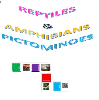 Reptiles and Amphibians Pictominoes