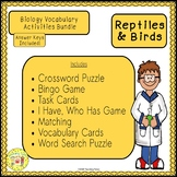 Reptiles and Birds Biology Bundle