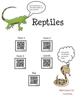 Reptiles using QR Codes