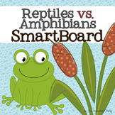 FREE Reptiles vs. Amphibians SmartBoard