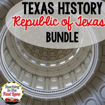 Republic of Texas Bundle with Lesson Plans