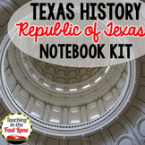 Republic of Texas Notebook Kit