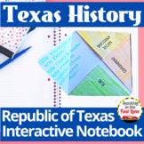 Republic of Texas Interactive Notebook