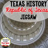 Republic of Texas Jigsaw Activity
