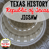 Republic of Texas Jigsaw Activity