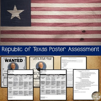 Republic of Texas Perspective Poster Assessment